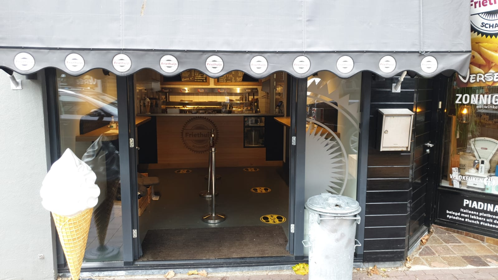 Snackbar in het centrum van Schagen