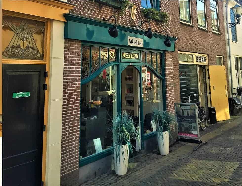 Winkel met woning in Alkmaar centrum