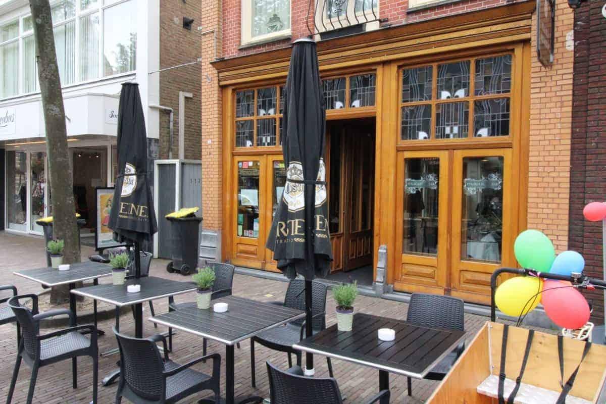 Restaurant in het winkelgebied Alkmaar