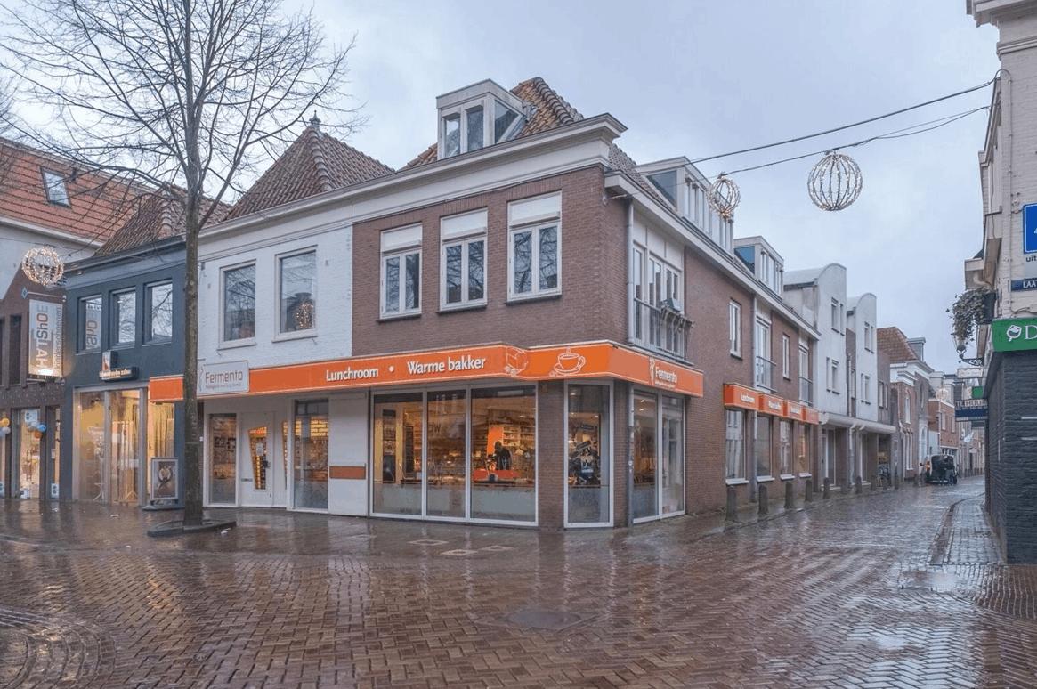 Casco Hoekpand aan de Laat-Hofstraat Alkmaar