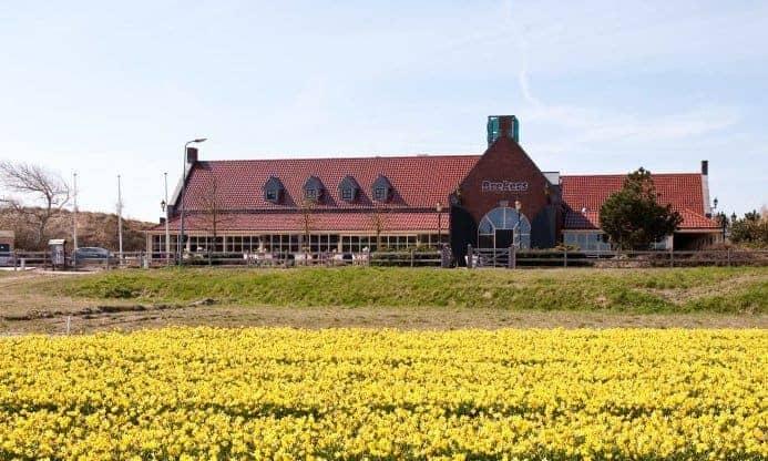 Restaurant in badplaats Callantsoog