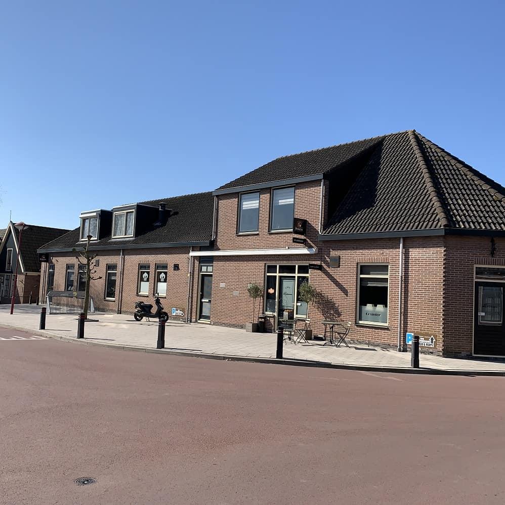 Restaurant met zaal en woning in Westwoud