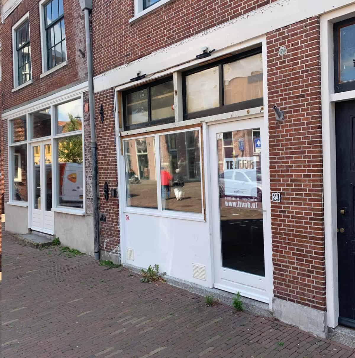 Casco horeca/winkelruimte in centrum Alkmaar