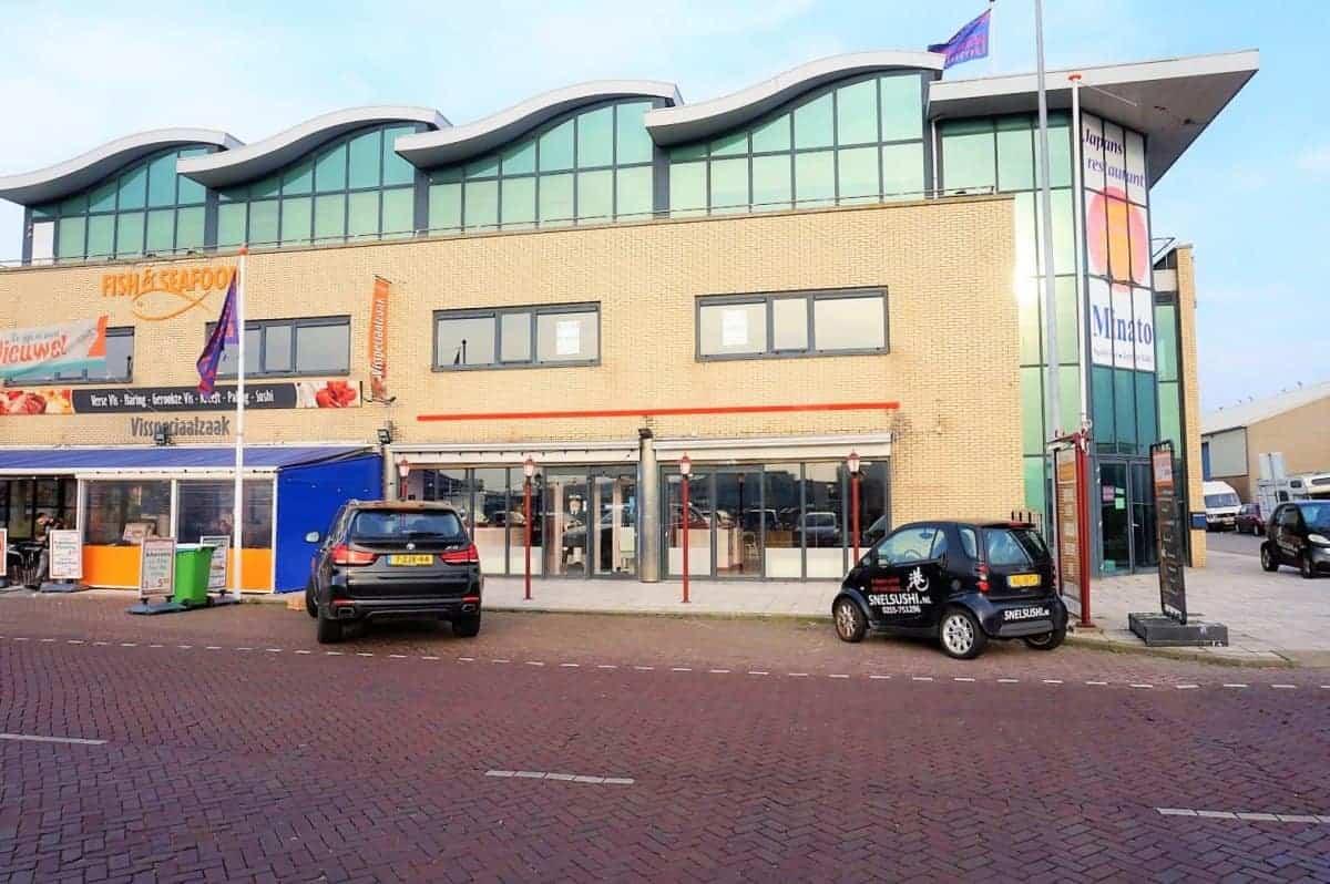 Horecaruimte in het havengebied van IJmuiden