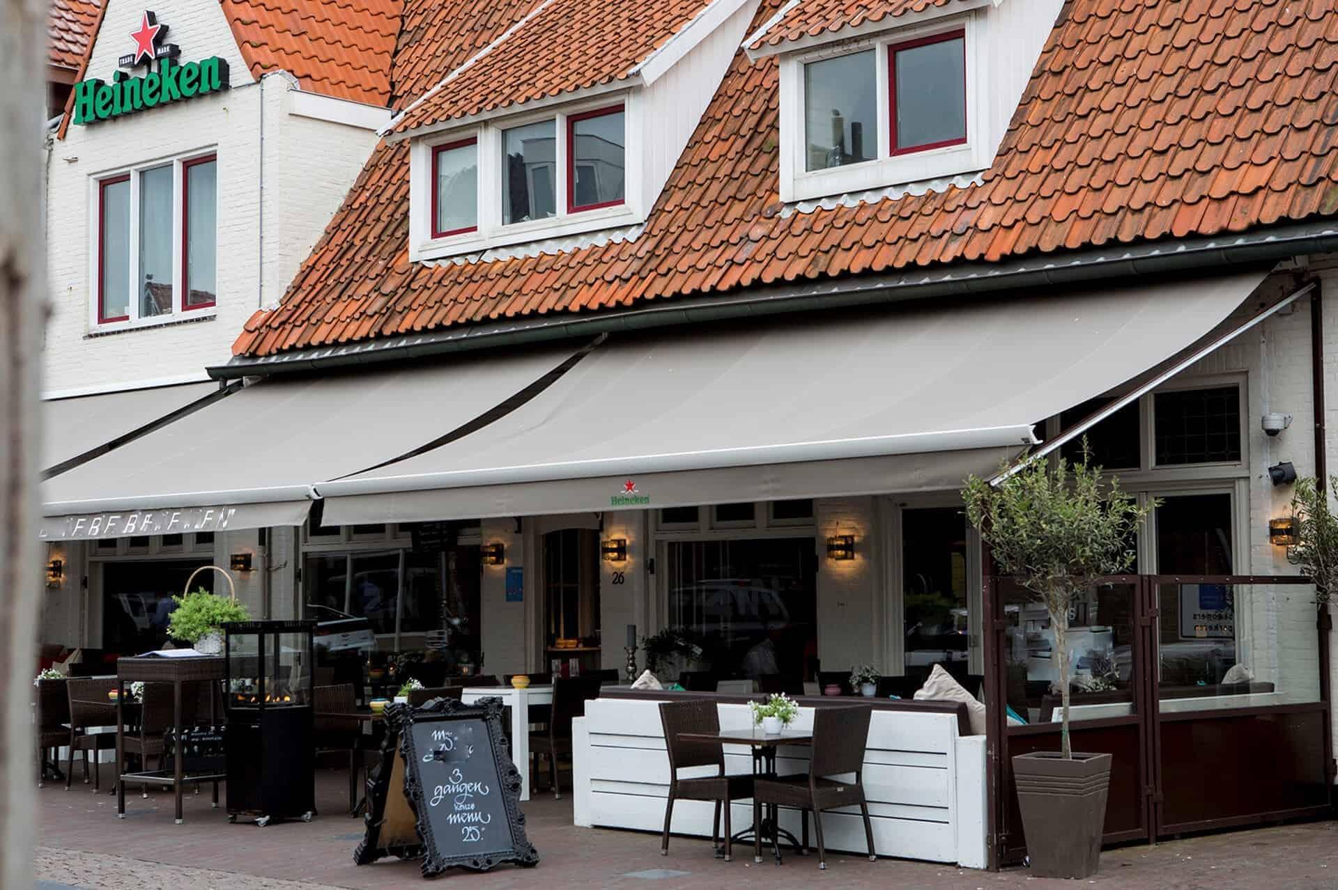 Modern restaurant in het centrum Zandvoort
