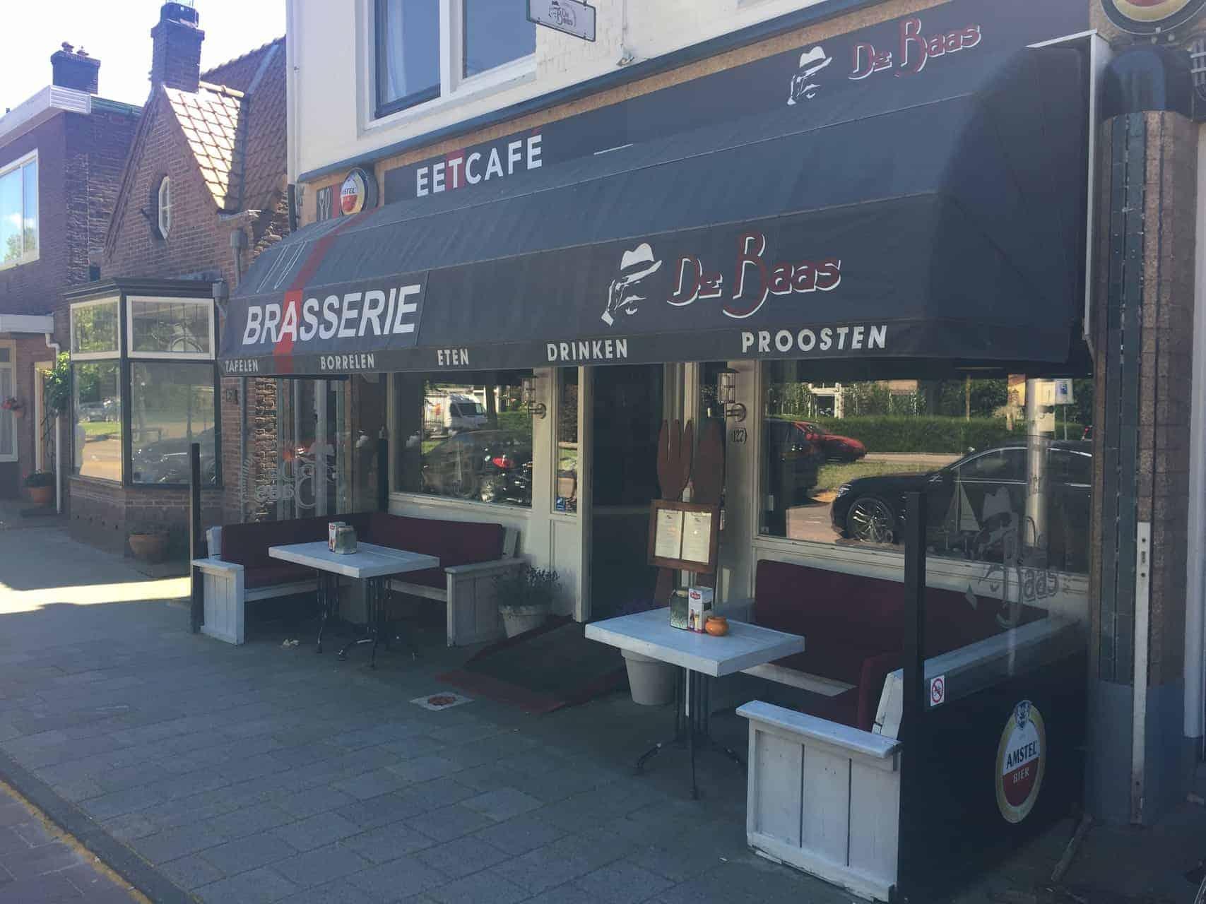 Eetcafé aan de Zandvoortselaan in Heemstede