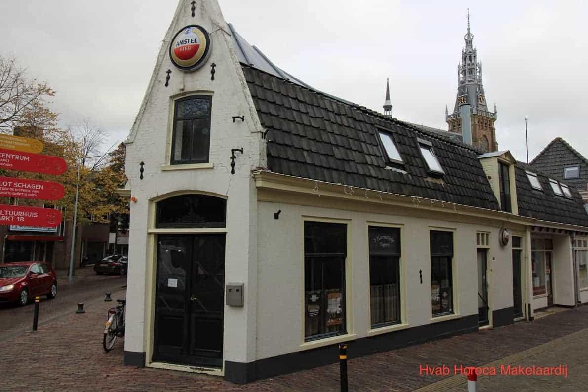 Cafébedrijf in het centrum van Schagen