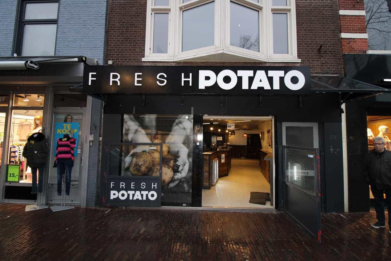 Cafetaria in het centrum van Alkmaar