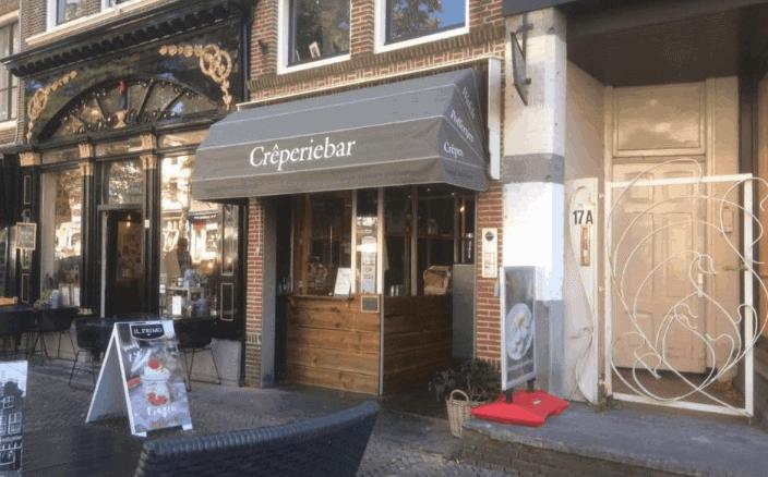 Crêperie-Bar gelegen aan de Mient in Alkmaar
