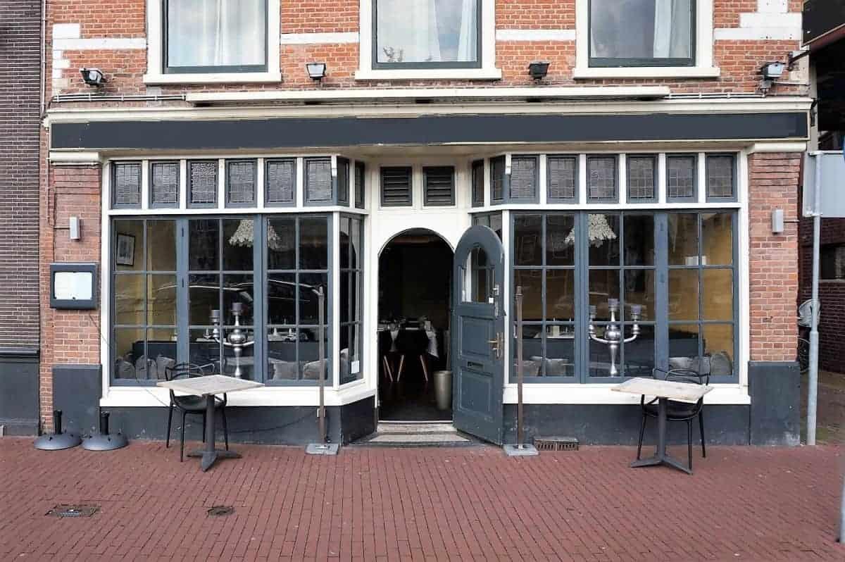 Restaurant met uitzicht over T' Spaarne Haarlem