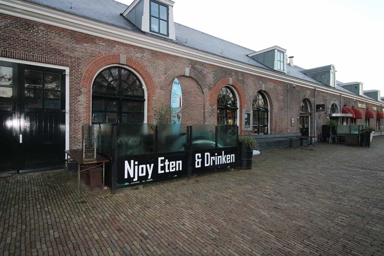 Grand Café gelegen op Willemsoord Den Helder