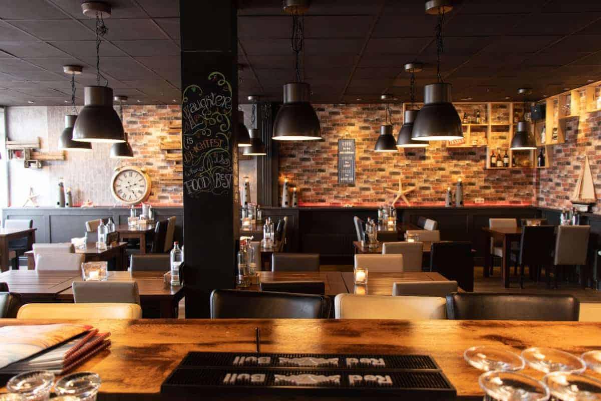 Restaurant op in De Koog op Texel