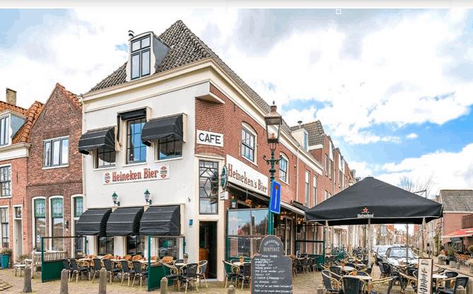 Restaurant-eetcafé in het centrum van Hoorn