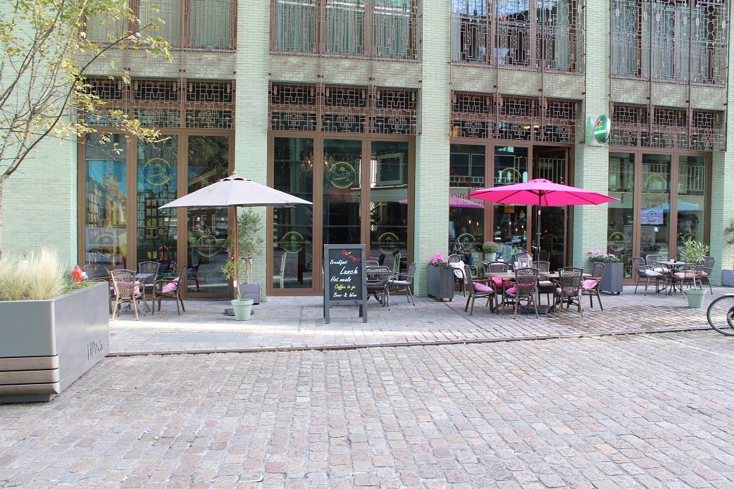 Bistro/-lunch op het IJdok in Amsterdam